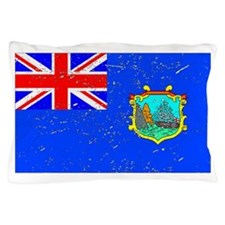 Old St Helena Flag (Distressed) Pillow Case