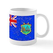 Old St Helena Flag (Distressed) Mugs