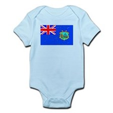 Old St Helena Flag (Distressed) Body Suit