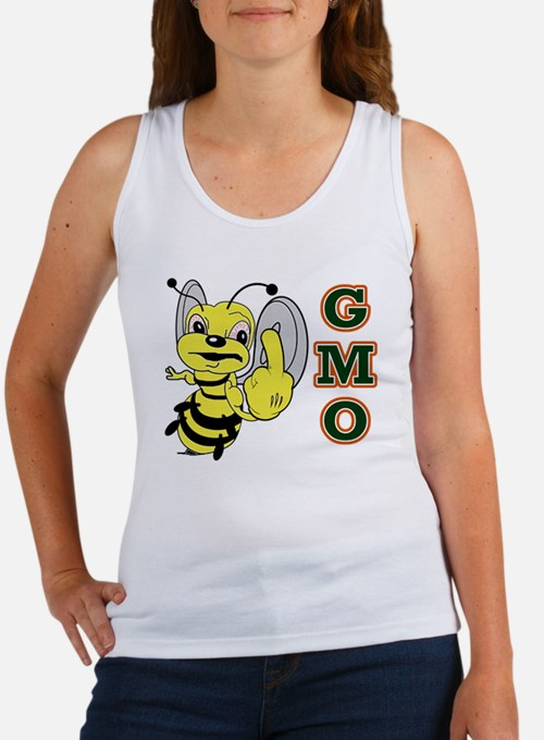 Cute Angry bees Women's Tank Top