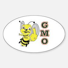 Cute Gmo Sticker (Oval)