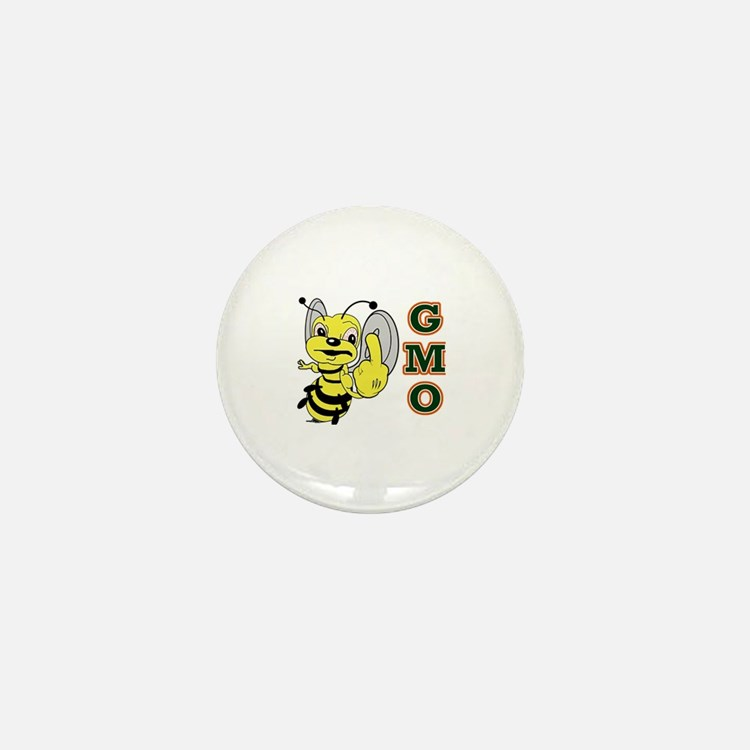 Cute Angry bees Mini Button