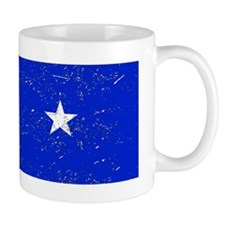 Somalia Flag (Distressed) Mugs