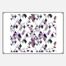 Mixed colors triangles Banner