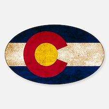 Vintage Flag of Colorado Stickers