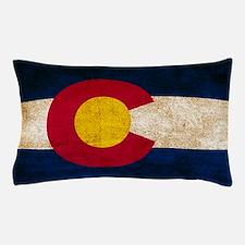 Vintage Flag of Colorado Pillow Case