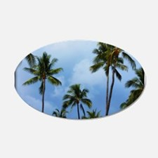 Palm trees Wall Decal