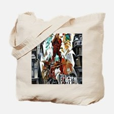 Delaunay - The Red Tower Tote Bag