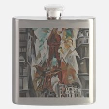 Delaunay - The Red Tower Flask