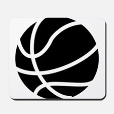 Basketball Black Mousepad