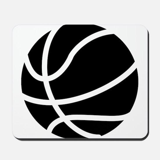 Basketball Black Mousepad