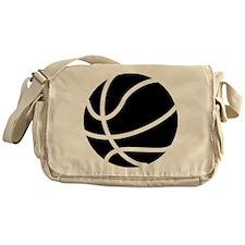 Basketball Black Messenger Bag