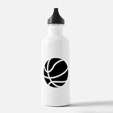Basketball Black Water Bottle