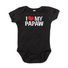 I Love My Papaw Baby Bodysuit