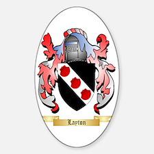 Layton Sticker (Oval)