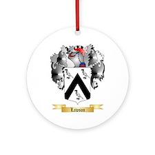 Lawson Ornament (Round)