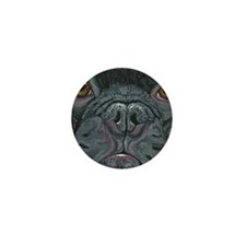 French Bulldog Face Mini Button (10 pack)