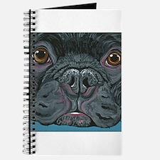 French Bulldog Face Journal