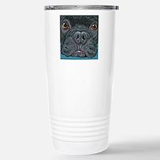 French Bulldog Face Travel Mug