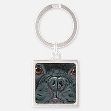 French Bulldog Face Keychains