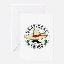 CSAR - PEDRO (2) Greeting Cards (Pk of 10)