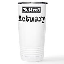 Unique Actuary Travel Mug