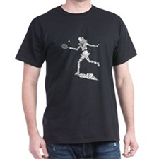 Distressed Tennis Player T-Shirt