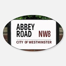 Abbey Road street sign Decal