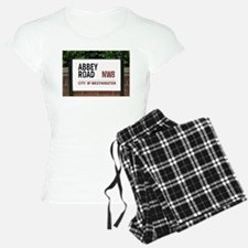 Abbey Road street sign Pajamas