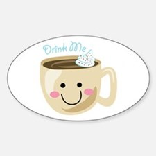 Drink Me Decal