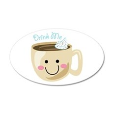 Drink Me Wall Decal
