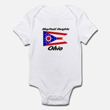 Mayfield Heights Ohio Infant Bodysuit
