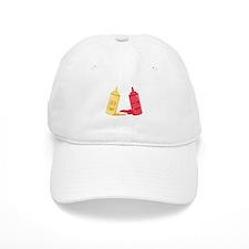 Ketchup & Mustard Baseball Baseball Cap