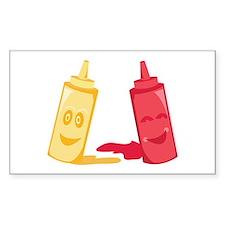 Ketchup & Mustard Decal