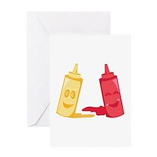 Ketchup & Mustard Greeting Cards