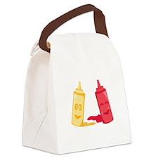 Ketchup & Mustard Canvas Lunch Bag