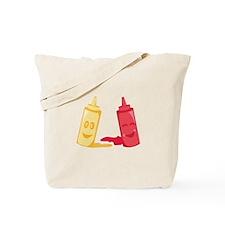 Ketchup & Mustard Tote Bag
