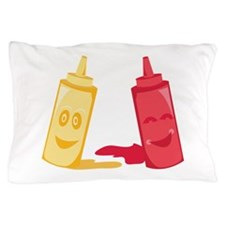 Ketchup & Mustard Pillow Case