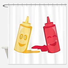 Ketchup & Mustard Shower Curtain