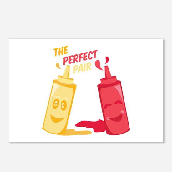 Perfect Pair Postcards (Package of 8)