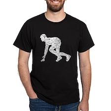 Distressed Runner At Start Line T-Shirt