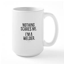 Nothing Scares Welder Mugs