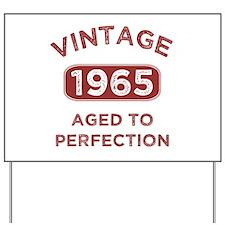 1965 Vintage Distressed Yard Sign
