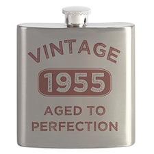 1955 Vintage Distressed Flask