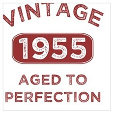 1955 Vintage Distressed Poster