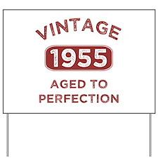 1955 Vintage Distressed Yard Sign