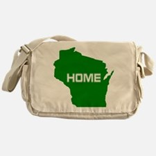 Wisconsin is Home Messenger Bag