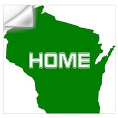 Wisconsin is Home Wall Decal