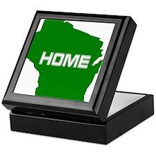 Wisconsin is Home Keepsake Box