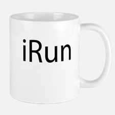 iRun (blue) Mugs